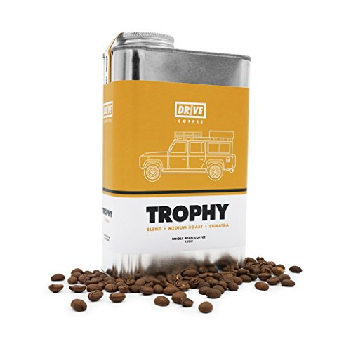 Drive Coffee - TROPHY Blend - 12 ounce - Roasted Whole Coffee Beans