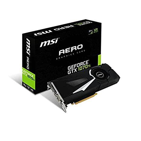 MSI Gaming GeForce GTX 1070 Ti 256-Bit 8GB GDDR5 VR Ready ...