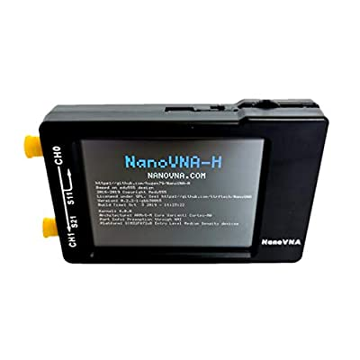 ULTECHNOVO Vector Network Analyzer HF VHF UHF UV 50KHz-900MHz 2.8Inches Portative Analyzer for Analyzing Network Phone