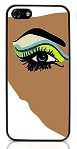 Beautiful Eye Hard Case for Apple iPhone 5/5S ( Sugar Skull )