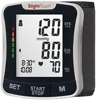 Slight Touch Fully Automatic Wrist Digital Blood Pressure Cuff Monitor ST-501