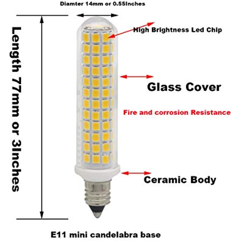 Led Bulbs E11 Led Bulb 100w Halogen Bulbs Replacement Jd