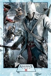 Assassin's Creed Collage XBOX 360 PS3 Video Game Poster