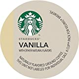 Starbucks Variety 96 K-cups Includes Vanilla Coffee, House Blend, French Roast, Pike Place, Veranda, Breakfast