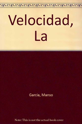 Entrenamiento de la velocidad por Manso Garcia