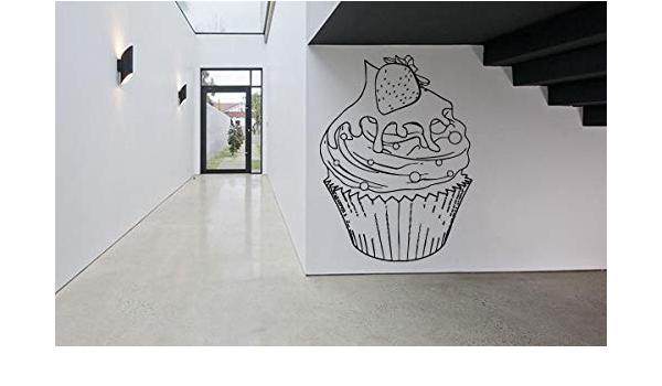 Shop Decor,Windbreaker Sticker A \u0421afe Shop Vinyl Restarn Snack Bar A Cafe sticker Cupcake shop design Coffee shop Bakery GF606