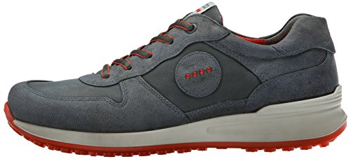 ECCO Men's Speed Hybrid-M Golf Shoe, Dark Shadow, 46 EU/12-12.5 US