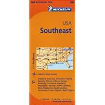 Michelin USA: Southeast / Etats-Unis: Sud Est Map 584