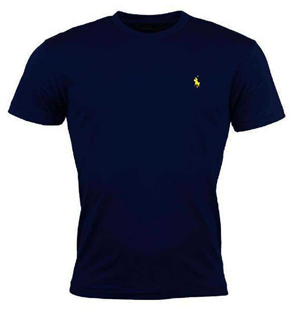 Polo Ralph Lauren Mens Pony Logo Crew Neck T-Shirt