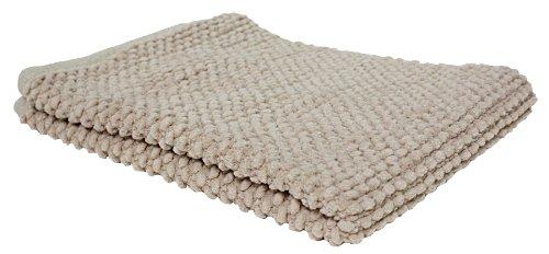 - Ultra Soft Plush Absorbent Cotton Popcorn Bath Rug, 22x30