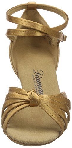 Donna Ballo Beige Latein Damen bronze Tanzschuhe 087 109 Diamant beige 087 Scarpe Da z8qvgdwx