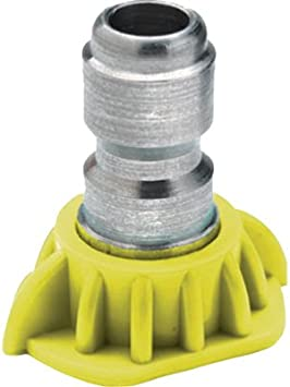 Raptor Blast 1//4in Stainless Steel Quick Connect 25 Degree Nozzle 3.0