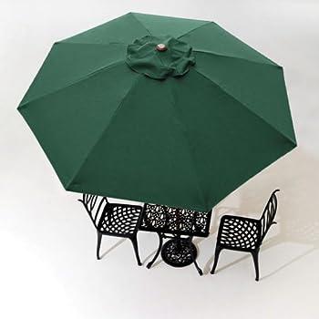 8u0027 Patio Umbrella Replacement Cover Top 8 Rib Outdoor Gazebo Beach Garden  Pool Yard Color Optional