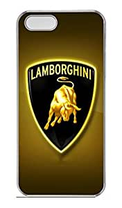 iPhone 6 4.7 Case, iPhone 6 4.7 Cases - Clear Plastic Case Cover for iPhone 6 4.7 Lamborghini Car Logo 12 Shock Absorbent Clear Hard Bumper Case for iPhone 6 4.7