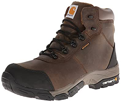 Carhartt Men's CMH6177 6 Inch Soft Toe Hiker Boot,Brown Oil Tanned Leather,10 M US