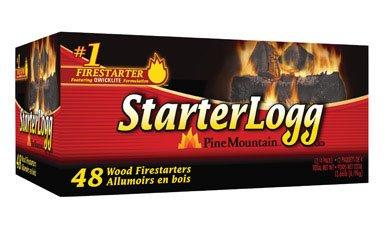 (Jarden Firelog Division 41525-01002 Fire Starter Starterlogg, 12 packs of 4)