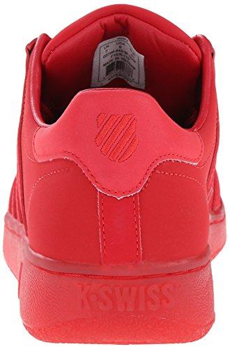 K-swiss Mens Classic 96 P Moda Sneaker Nastro Rosso / Ghiaccio