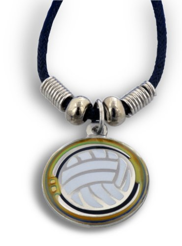(Volleyball Mood Necklace - Color Changes)
