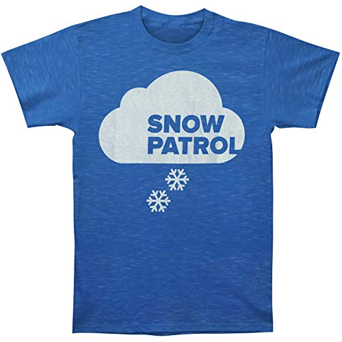 Snow Patrol Men's Cloud North American Tour 2012 T-Shirt Medium Blue