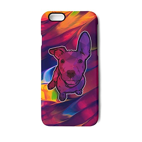 Iphone Case little bull terrier art design Slim Flexible Soft Silicone Bumper Shockproof Case For Iphone 7,Iphone 8