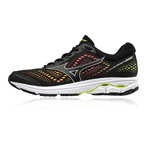 Rider 001 Black Basses 22 Multicolore Sneakers Black Homme Yellow Mizuno Osaka Safety Wave T5Raqxawg