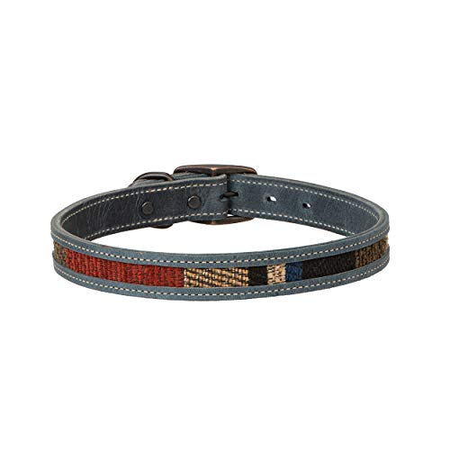 Weaver Pet Indigo Sky Dog Collar