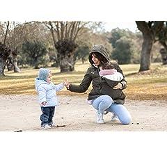 Abrigo de Porteo y Maternidad Multifuncional Amarsupiel 5 en 1 ...