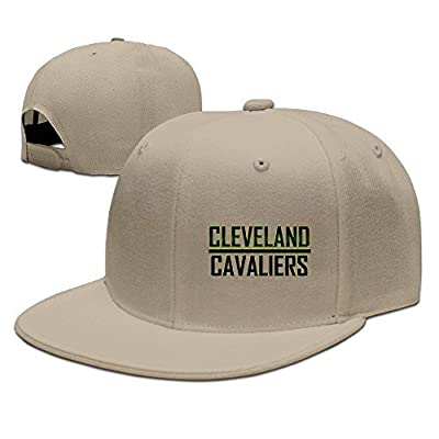 Runy Custom Cleveland Cavaliers Adjustable Baseball Hat & Cap