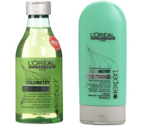 - Loreal Volumetry Anti-Gravity Effect Volume Shampoo 8.5 oz & Conditioner 5 oz