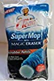 Scrubber Refills for Mr Clean Super Mop with Magic Eraser 2 count