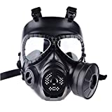 PeleusTech® WST Head Mask Full Face Single Canister Electric Ventilative Biochemical Gas Mask