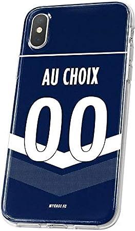 MYCASEFC Coque Bordeaux Personnalisable Foot PERSONNALISÉE (Wiko ...