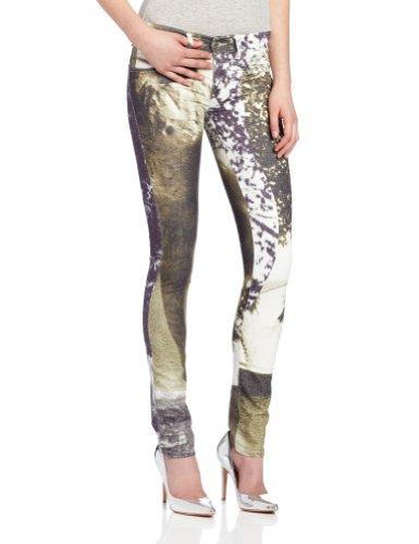 Diesel Women's Livier Super-Slim Legging Jean 003N3 in Print, Print, 29x32 (Diesel Mid Rise Jeans)