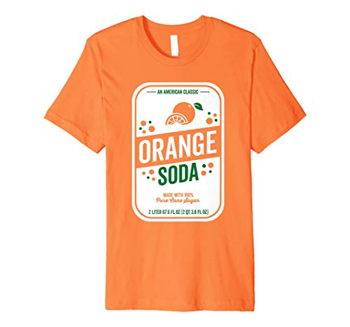 Soda Halloween Costume (Soda Group Halloween Costume Orange Soda)