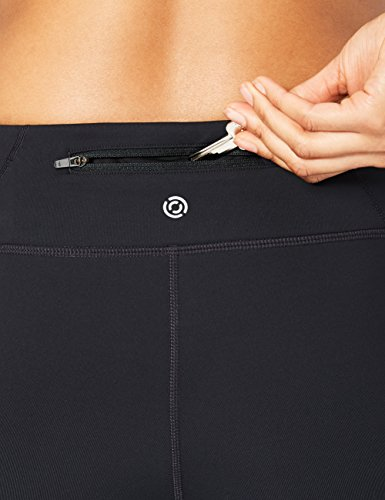 Core 10 Women's Onstride Medium Waist Run Capri Legging, Black, L (12-14) by Core 10 (Image #4)