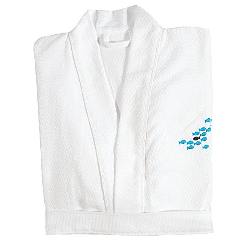 Diamond Robe (Bliss Collection Diamond Weave Light Weight Robe)