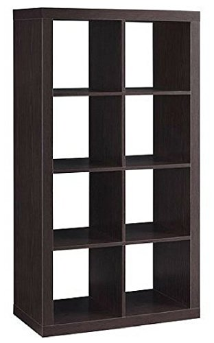 Modern Better Homes and Gardens 8-Cube Organizer, Espresso by Better Homes & Gardens (ESPRESSO, 8-Cube) from Better Homes & Gardens