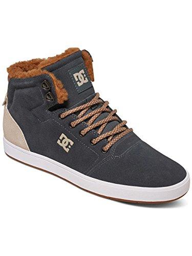 DC Shoes Crisis High Wnt - Zapatillas para niños Charcoal