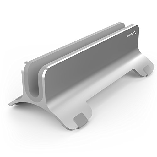 (Sabrent Aluminum Vertical Laptop Stand MacBook Holder (AC-HLDS))