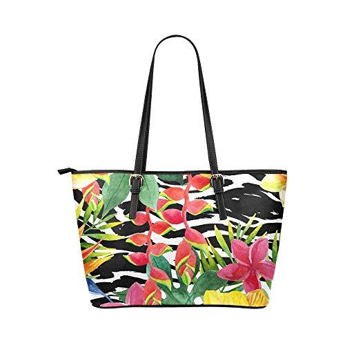 Axelväska hållare färgglad vacker konst retro blomma läder handväskor väska orsaksala handväskor dragkedja axel organiserare för damer flickor kvinnor flickor axelväska