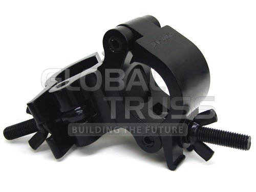 Global Truss Pro Swivel Clamp Black Powder - Swivel Pro Clamp