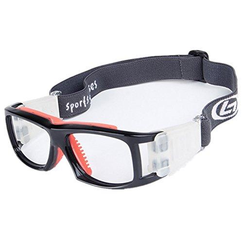 Wonzone Basketball Football Avant-garde Fashion Sports Glasses Antifog Anti Shock Collision Wearable Glasses Sports Goggles - Protection Eye For Basketball