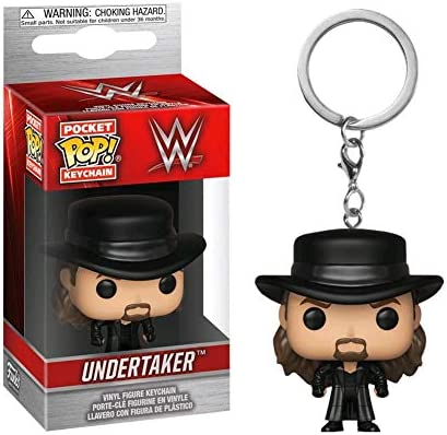 Amazon.com : WWE Authentic Wear Undertaker POP! Keychain ...