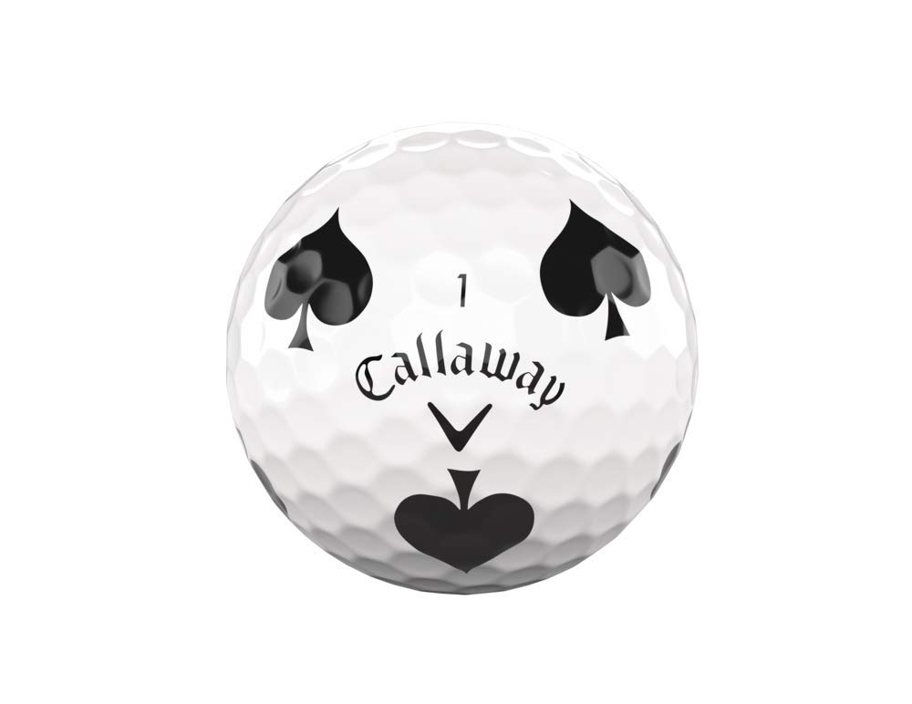 Callaway Golf Chrome Soft Truvis Golf Balls (One Dozen), Suits (Limited Edition) by Callaway (Image #2)