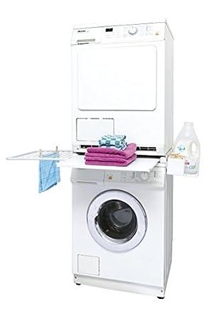 Kit de conexión para una lavadora secadora torre / kit de conexión ...