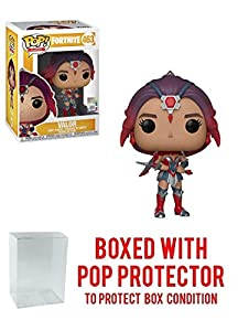 Funko Valor: Fortnite x POP! Games Vinyl Figure & 1 POP! Compatible PET Plastic Graphical Protector Bundle [#463 / 36025 - B]