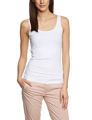 Only Onllive Love Tank Top Noos - Top Mujer Blanco