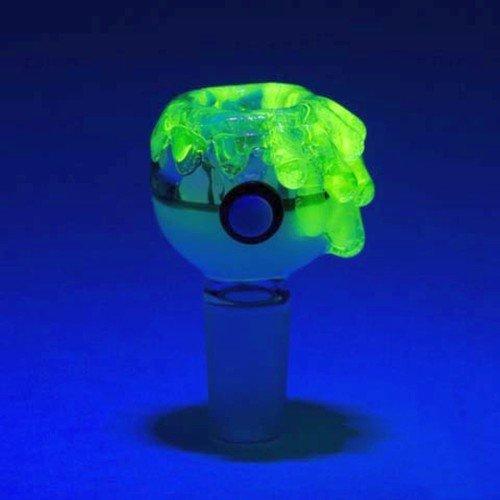 Green Glass Stem - 3