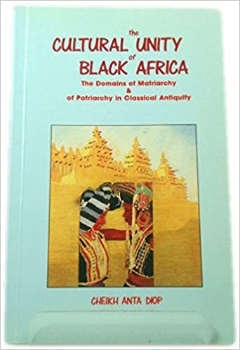 The Cultural Unity of Black Africa: The Domains of