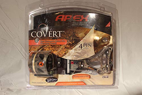 """APEX GEAR Covert 4-Pin Sight .019"""" LOST Camo"""